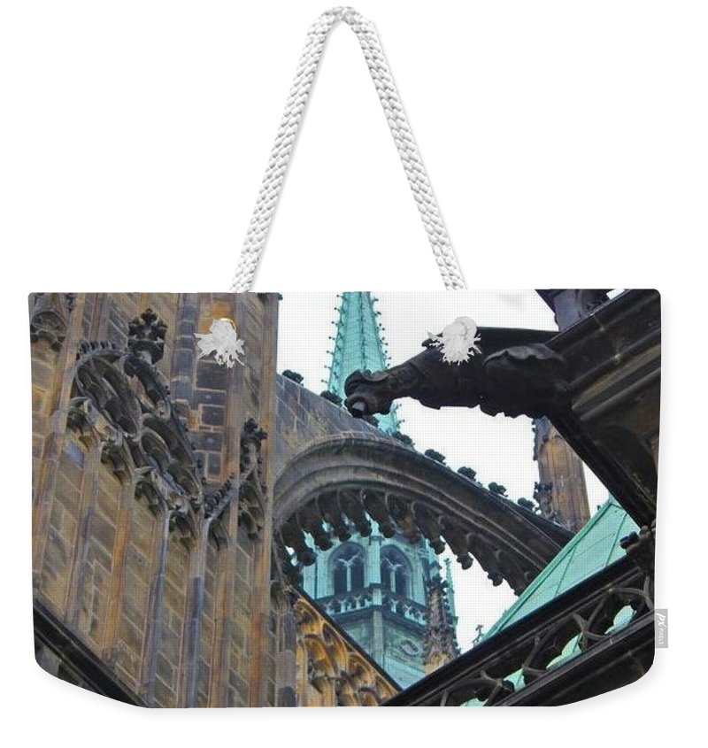 Arch Weekender Tote Bag featuring the photograph Arches And Spires by Christin Brodie