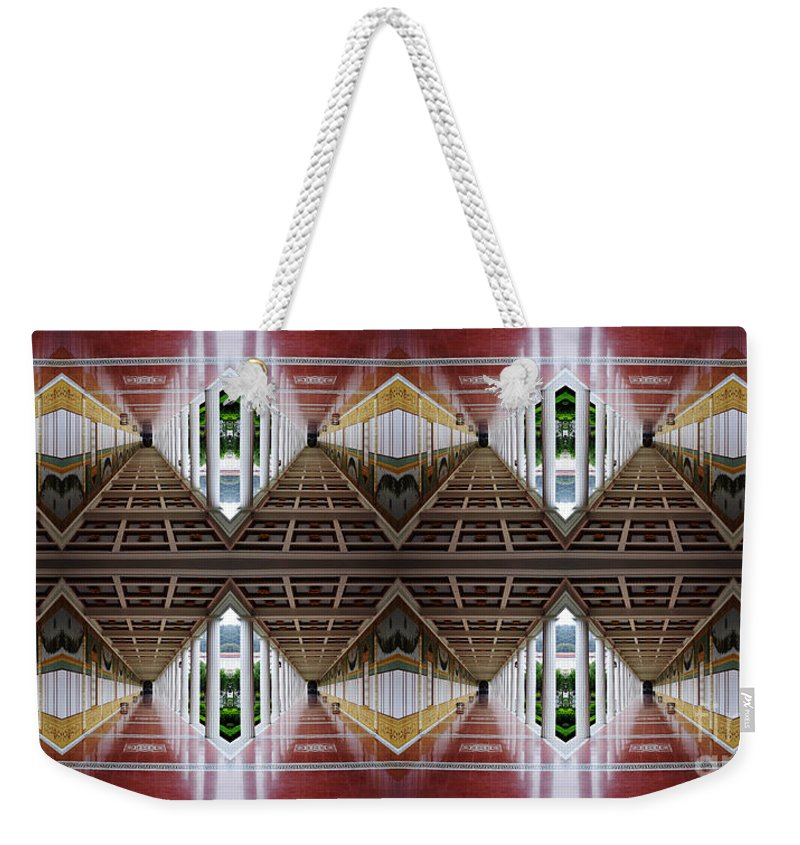 Clay Weekender Tote Bag featuring the photograph Architectural Nightmare II by Clayton Bruster