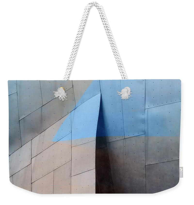 Architecture Weekender Tote Bag featuring the photograph Architectural Reflections 4619h by Carol Leigh
