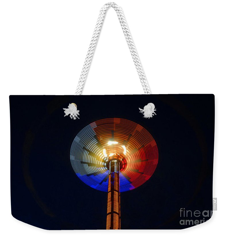 Modern Weekender Tote Bag featuring the photograph Area 51 by David Lee Thompson