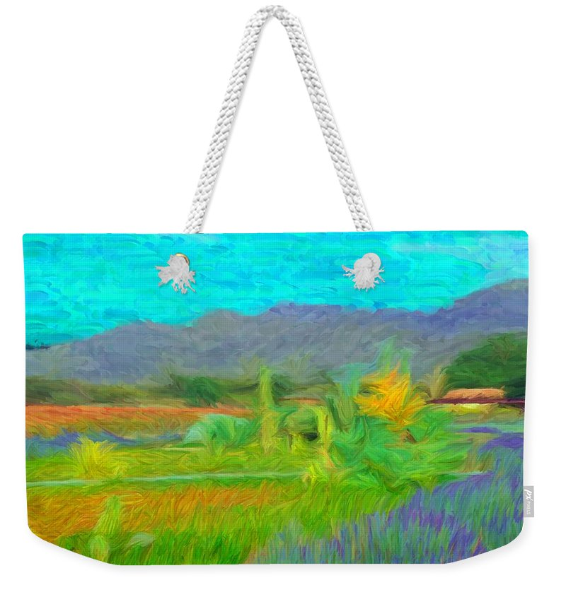 Argentina Weekender Tote Bag featuring the digital art Argentina 1 - by Caito Junqueira