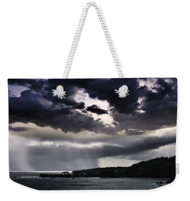 Aloha Weekender Tote Bag featuring the photograph Arianrhods Touch by Sharon Mau