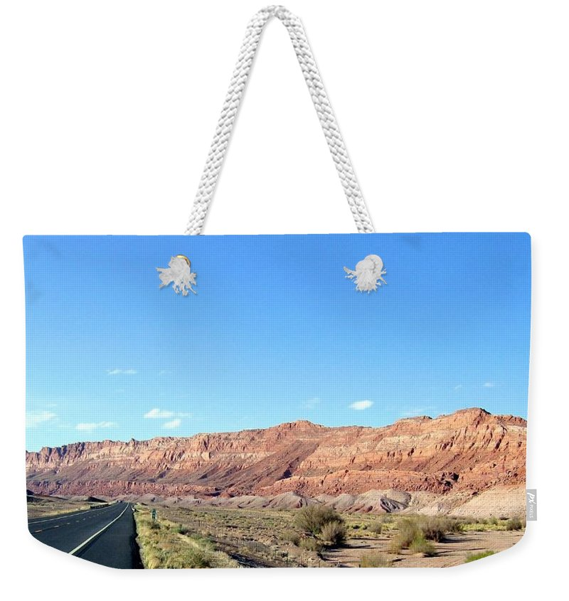Arizona Weekender Tote Bag featuring the photograph Arizona 17 by Will Borden
