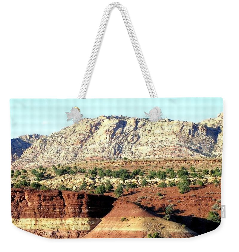 Arizona Weekender Tote Bag featuring the photograph Arizona 18 by Will Borden