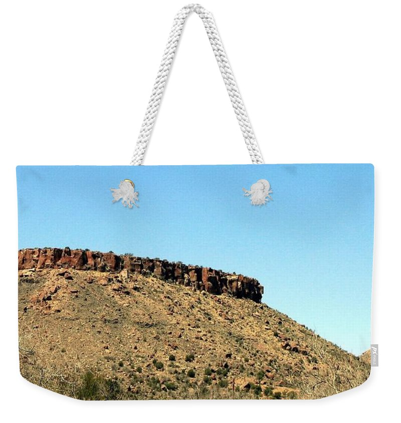 Arizona Weekender Tote Bag featuring the photograph Arizona 2 by Will Borden