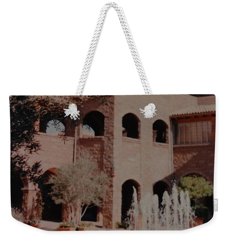 Arizona Weekender Tote Bag featuring the photograph Arizona Water by Rob Hans
