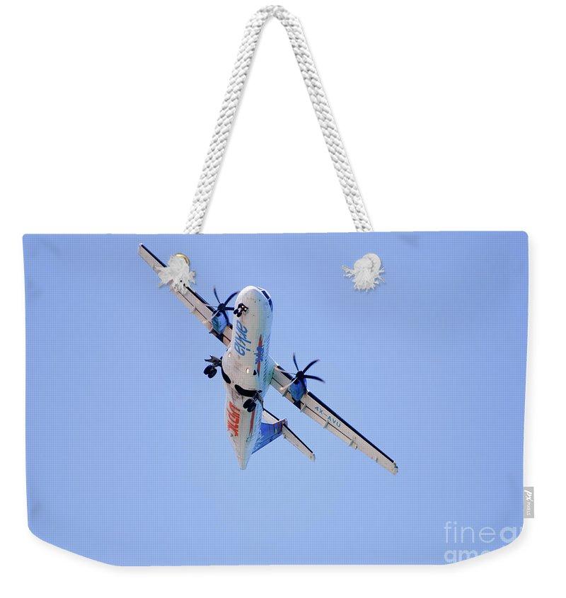 Airoplane Weekender Tote Bags