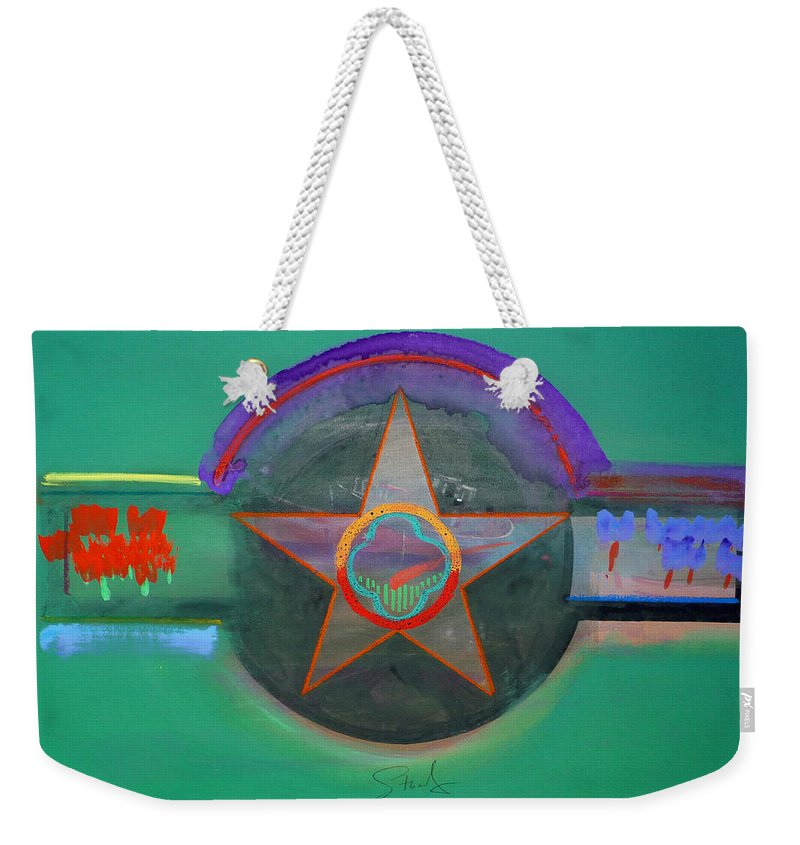 Star Weekender Tote Bag featuring the painting Arlington Green by Charles Stuart