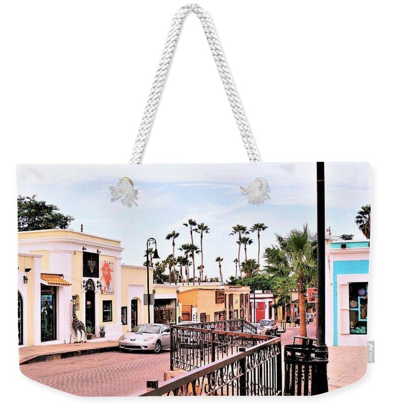 Neighbourhood Weekender Tote Bag featuring the photograph Art Neighbourhood by Marilyn Alexander