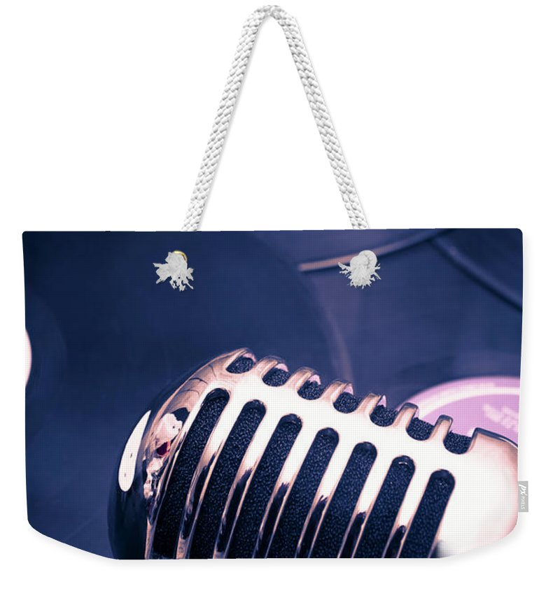 Broadcast Weekender Tote Bag featuring the photograph Art Of Classic Communication by Jorgo Photography - Wall Art Gallery