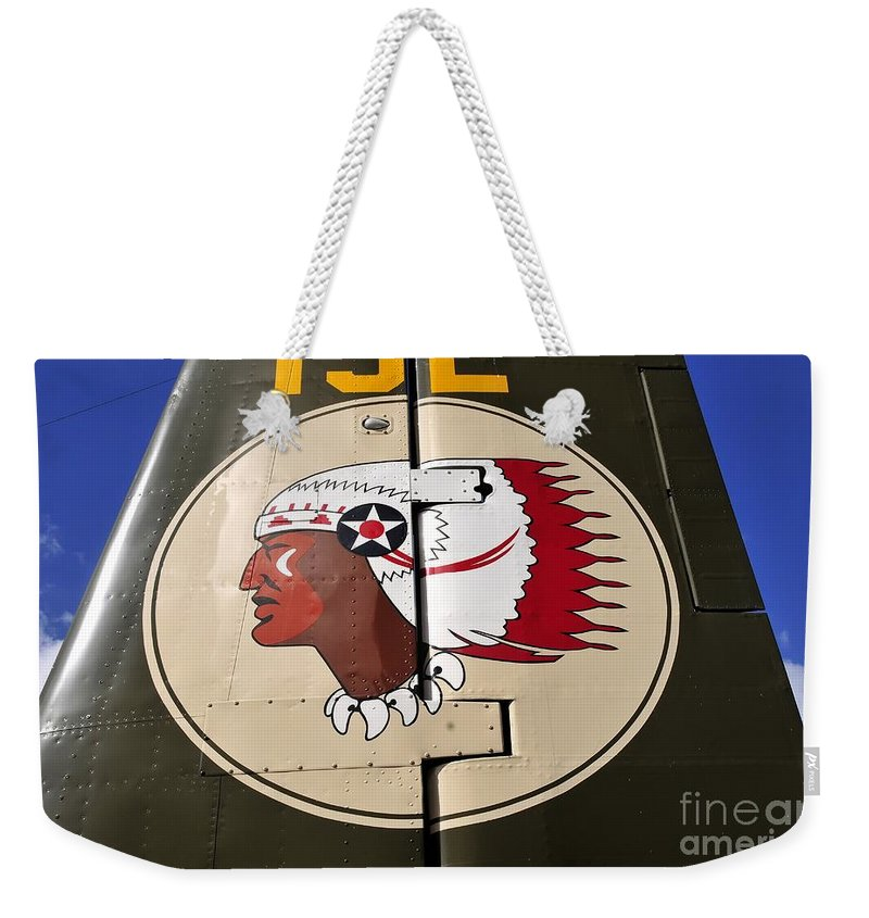 Art Weekender Tote Bag featuring the photograph Art Of War by David Lee Thompson