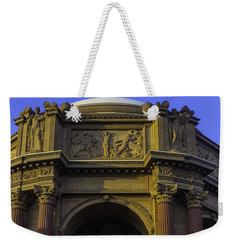 Palace Of Fine Arts Weekender Tote Bag featuring the photograph Artful Palace Of Fine Arts by Garry Gay