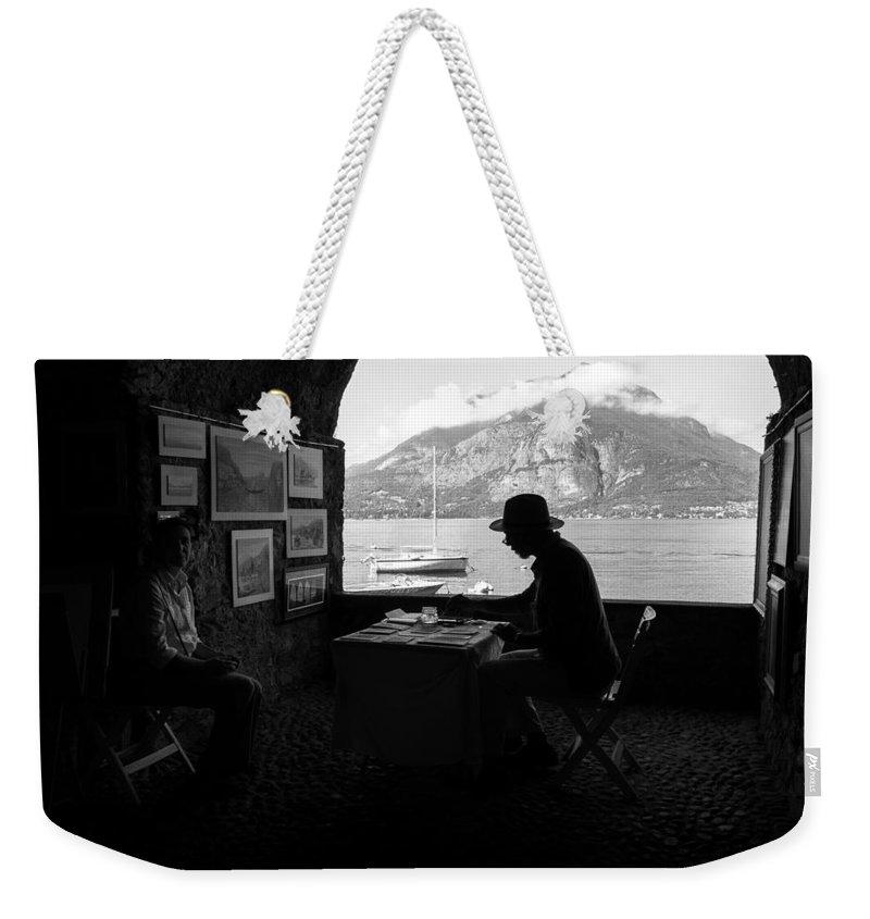 Alfio Finocchiaro Weekender Tote Bag featuring the photograph Artista Di Strada by Alfio Finocchiaro