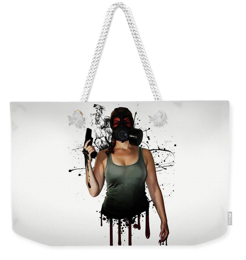 Zombies Weekender Tote Bags