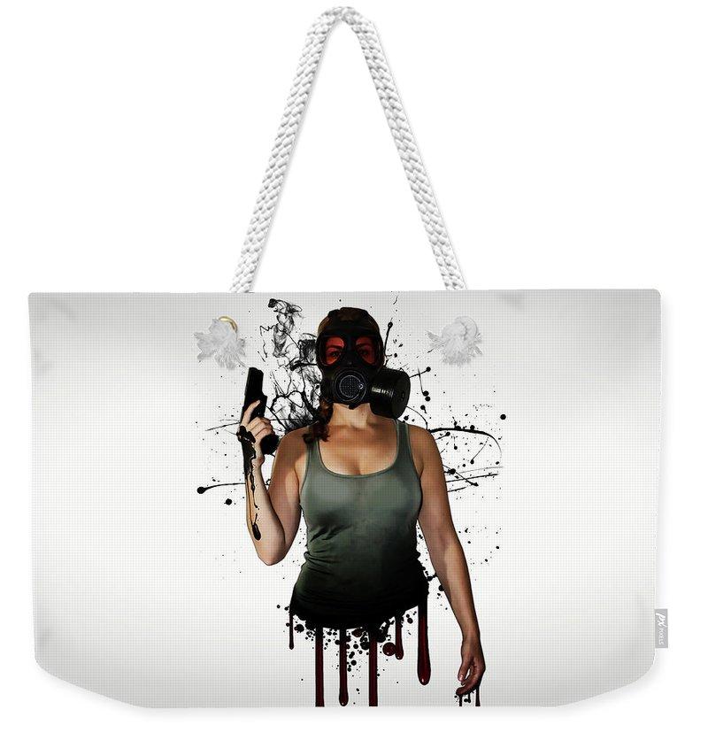 Weapon Photographs Weekender Tote Bags