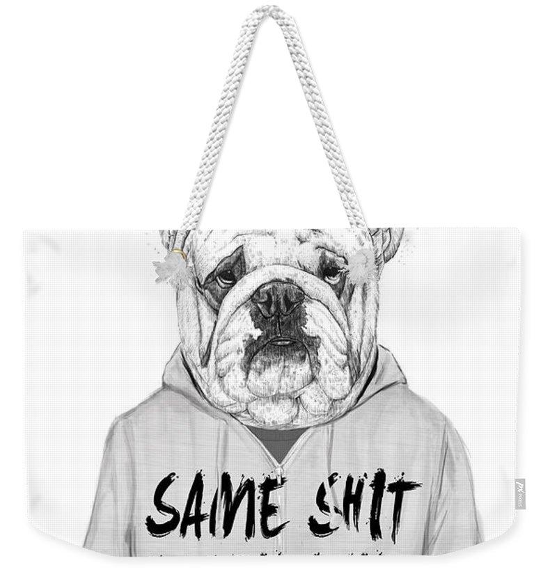 Word Art Weekender Tote Bags