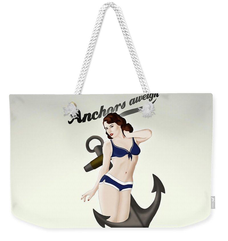 Pinup Weekender Tote Bags