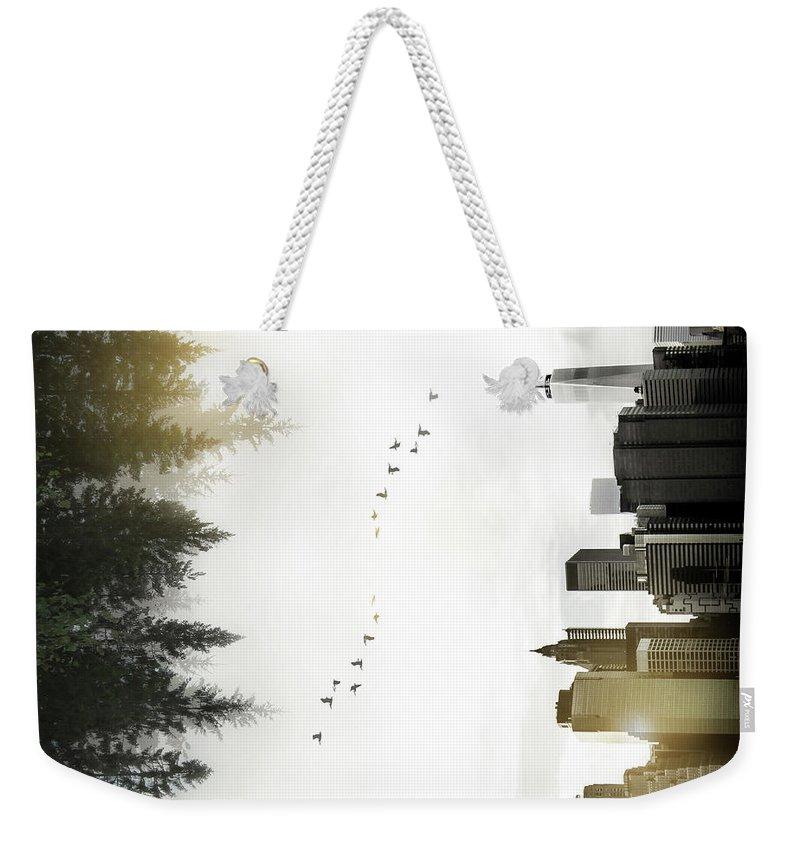Forest Weekender Tote Bags