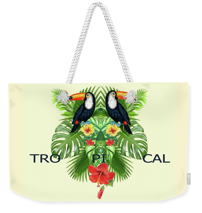 Animals Weekender Tote Bag featuring the photograph Tropical Summer by Mark Ashkenazi