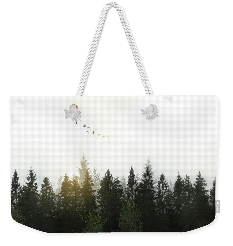 Tone Digital Art Weekender Tote Bags