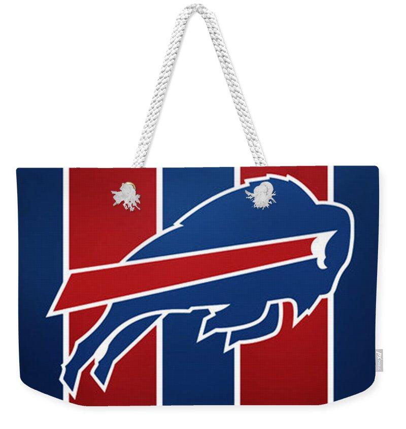 Bills Football Club Weekender Tote Bag featuring the photograph Bills Football Club by Mitro Dente