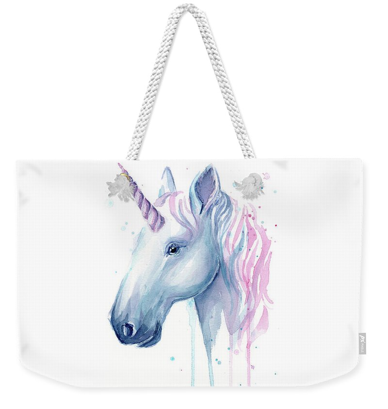 Cotton Candy Weekender Tote Bags