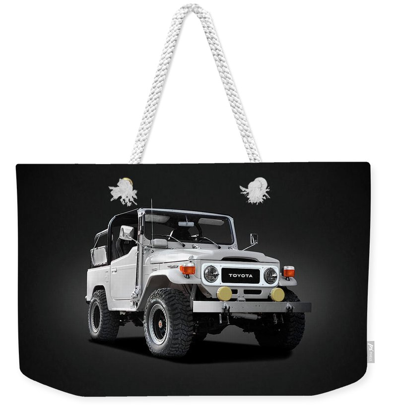 Land Cruiser Bj40 Weekender Tote Bag featuring the photograph The Land Cruiser by Mark Rogan