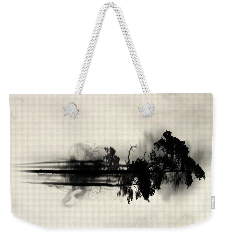 Fog Weekender Tote Bags