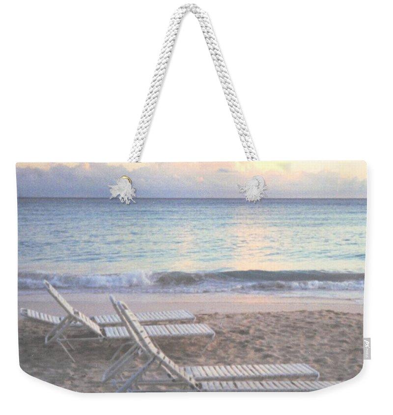 Aruba Weekender Tote Bag featuring the photograph Aruba Beach by Ian MacDonald
