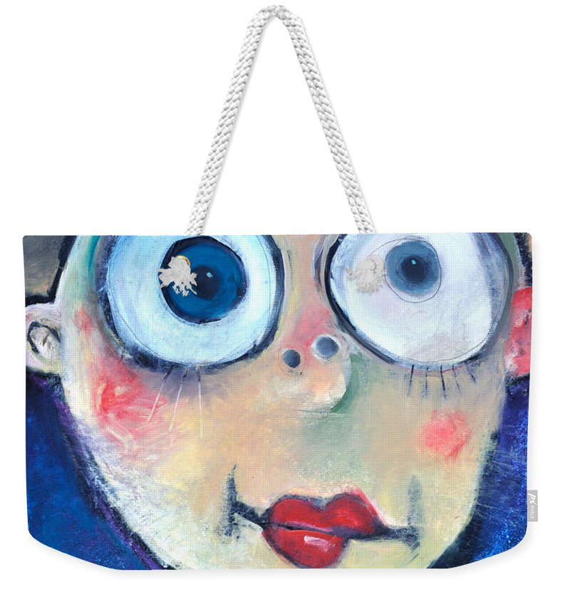 Child Weekender Tote Bag featuring the painting As A Child by Tim Nyberg