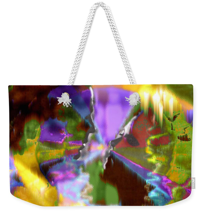 As Time Goes By Weekender Tote Bag featuring the digital art As Time Goes By by Seth Weaver