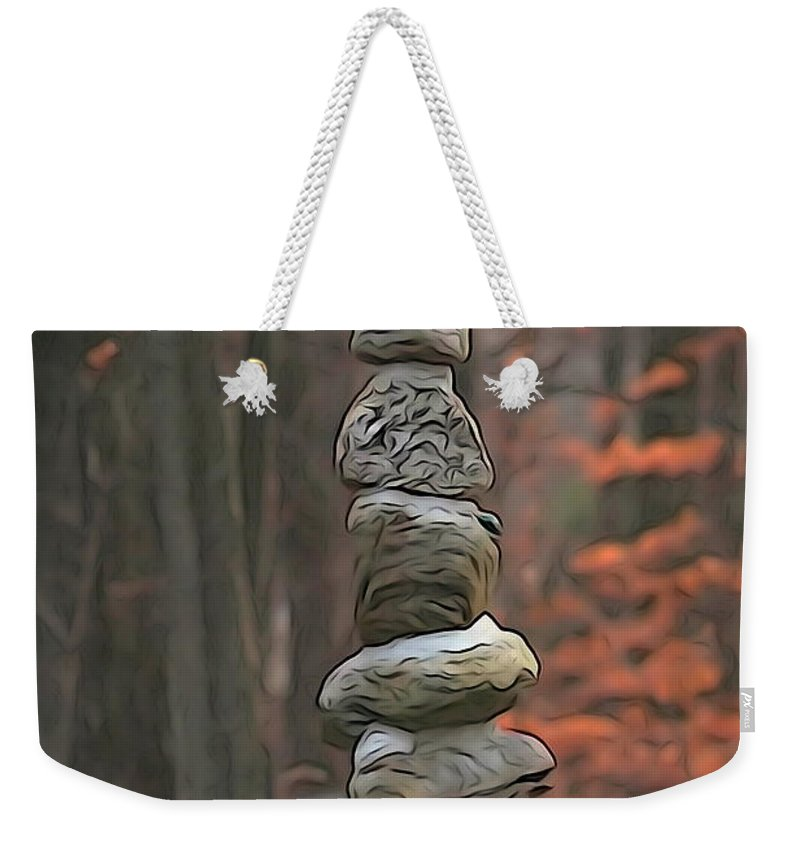 Staute Weekender Tote Bag featuring the photograph Ascention by Cj Mainor