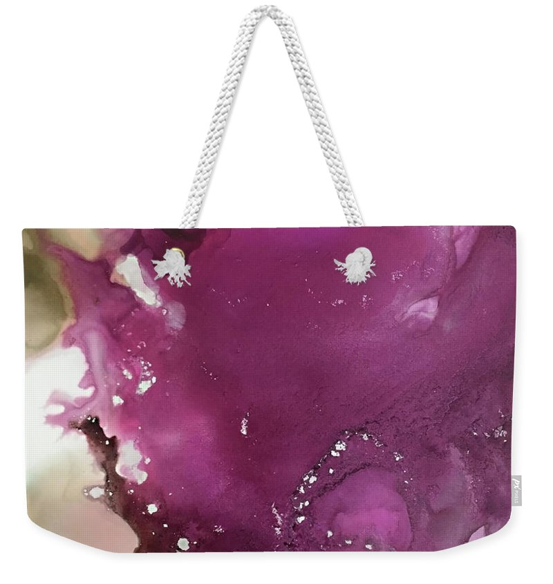 Abstract Weekender Tote Bag featuring the painting Ascention by Jonny Troisi