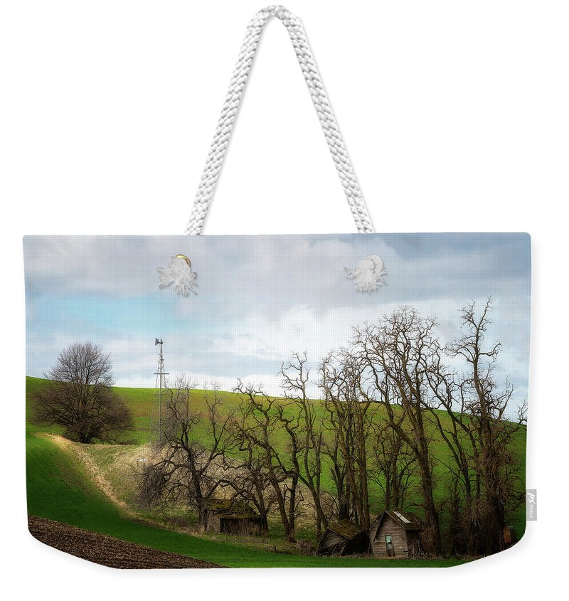 Palouse Weekender Tote Bag featuring the photograph Ashes To Ashes by Ryan Manuel