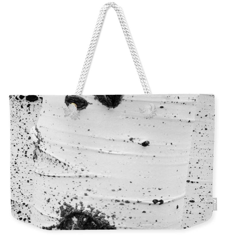 Ir Weekender Tote Bag featuring the photograph Aspens Ir 0707 by Bob Neiman