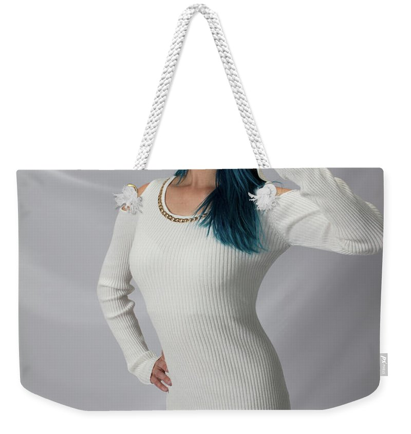 Aspiring Weekender Tote Bag featuring the photograph Aspiring Maxina by Gregory Daley MPSA