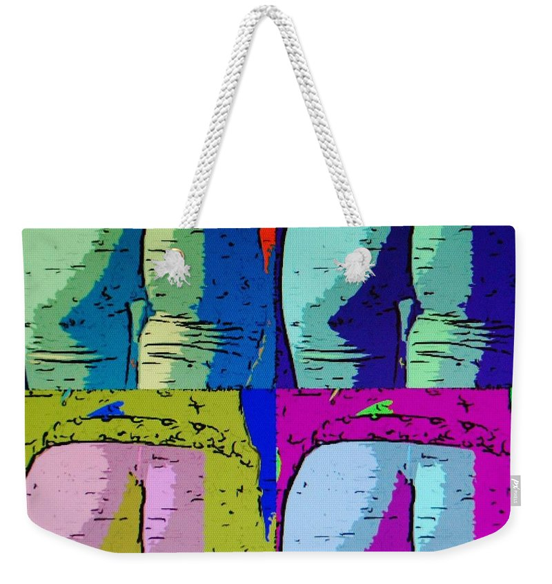 Ass Weekender Tote Bag featuring the photograph Ass Colors by Rob Hans