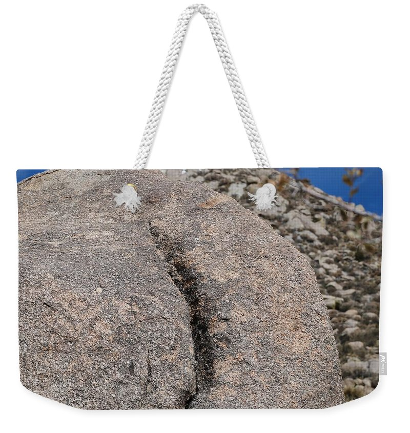 Pop Art Weekender Tote Bag featuring the photograph Ass Rock New Mexico by Rob Hans