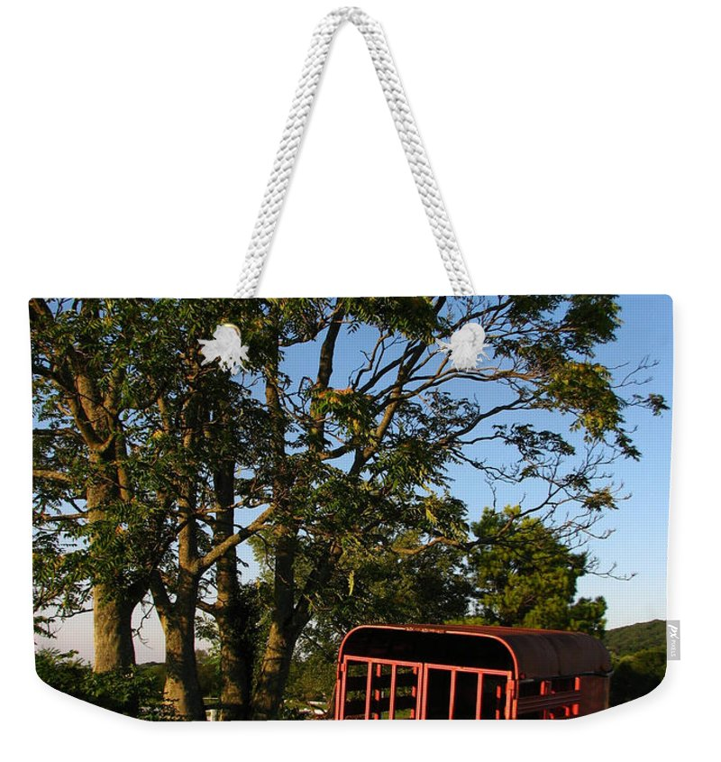 Landscape Weekender Tote Bag featuring the photograph At Rest by Todd Blanchard