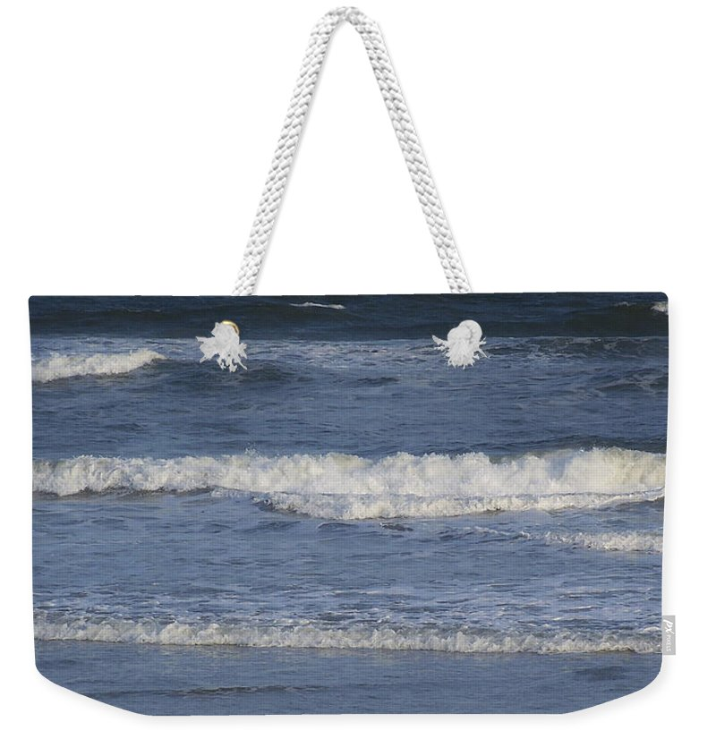 Atlantic Weekender Tote Bag featuring the photograph Atlantic Ocean Gradient by Teresa Mucha