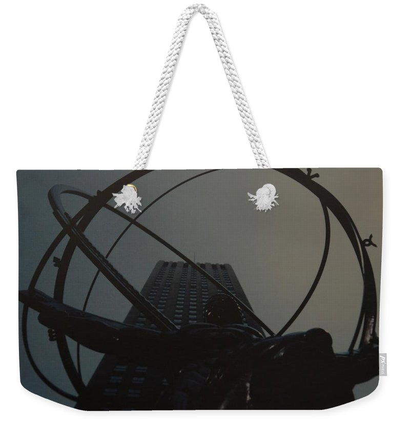 Atlas Weekender Tote Bag featuring the photograph Atlas by Rob Hans