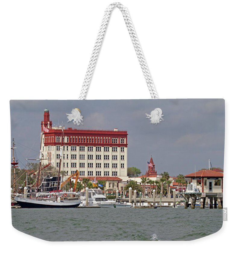 Weekender Tote Bag featuring the photograph Augustine For Ben by Betsy Knapp