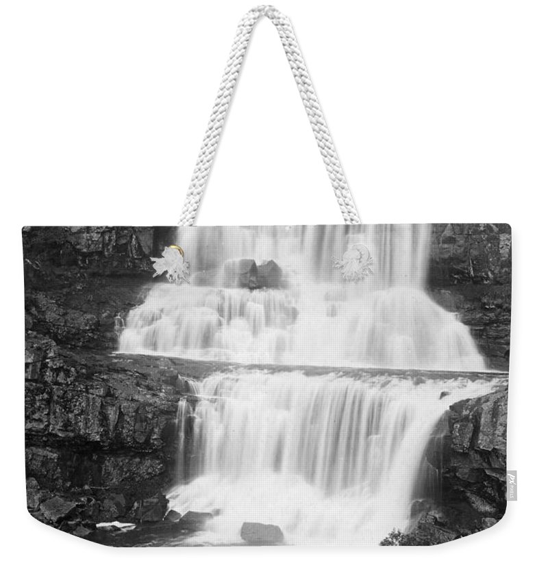 20th Century Weekender Tote Bag featuring the photograph Australia: Waterfall by Granger