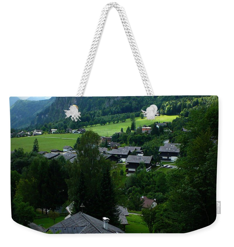 Austria Weekender Tote Bag featuring the photograph Austrian Landscape by Carol Groenen