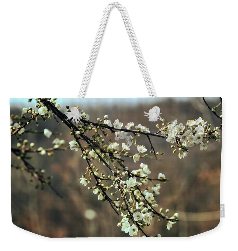 Flowers Weekender Tote Bag featuring the photograph Autrepart by Zapista