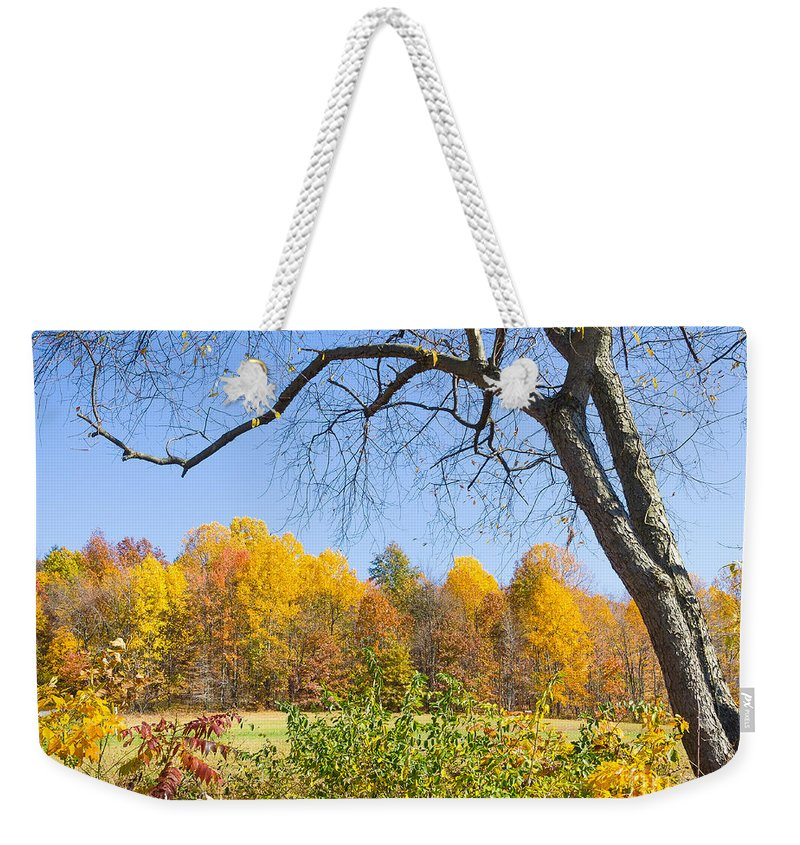 Autumn Weekender Tote Bag featuring the photograph Autumn # 1 by John Waclo