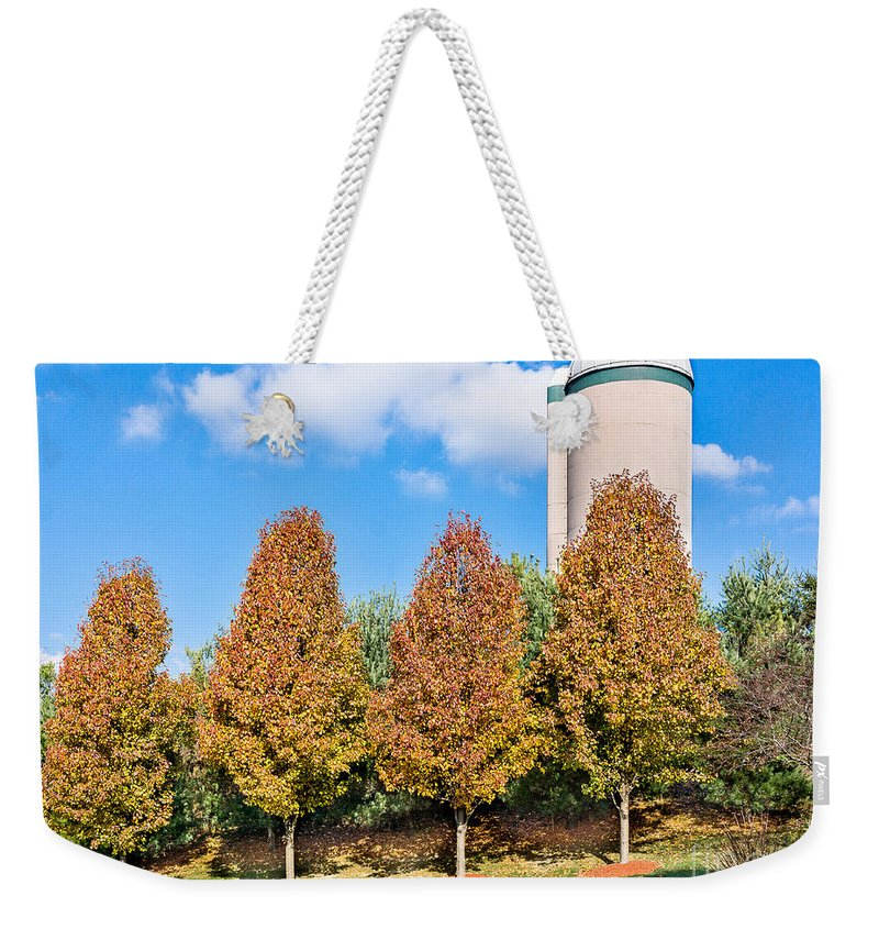 Autumn Weekender Tote Bag featuring the photograph Autumn # 2 by John Waclo