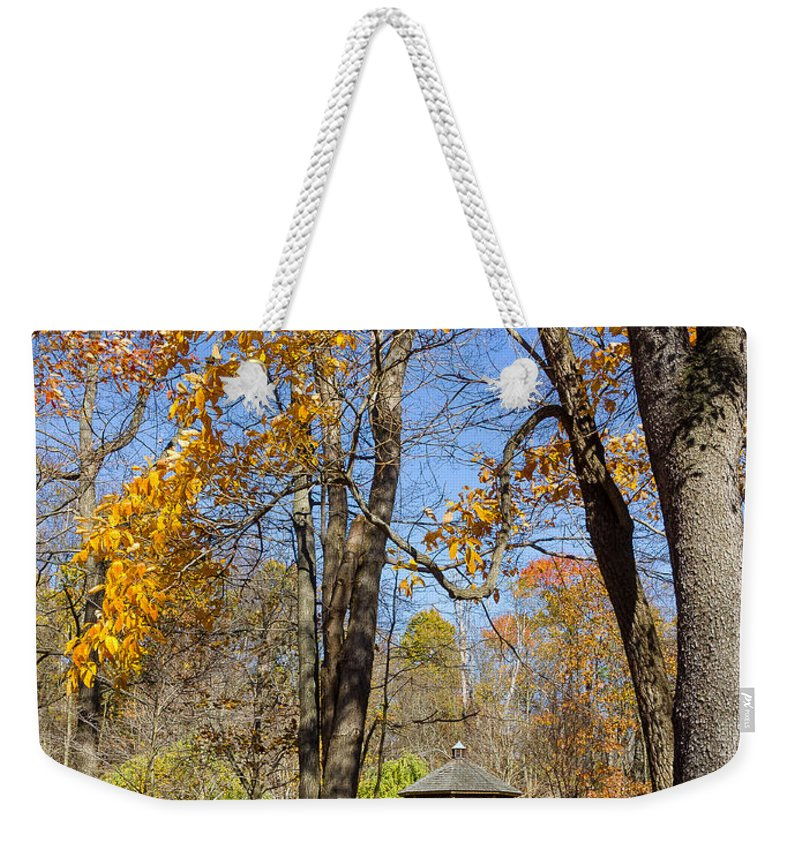 Autumn Weekender Tote Bag featuring the photograph Autumn # 3 by John Waclo