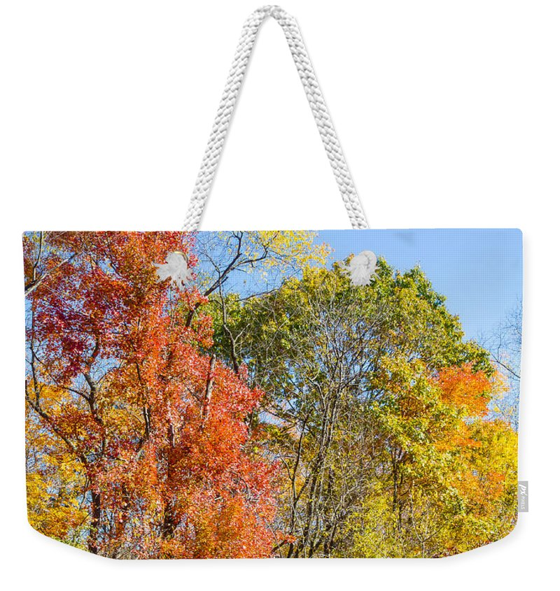 Autumn Weekender Tote Bag featuring the photograph Autumn # 5 by John Waclo