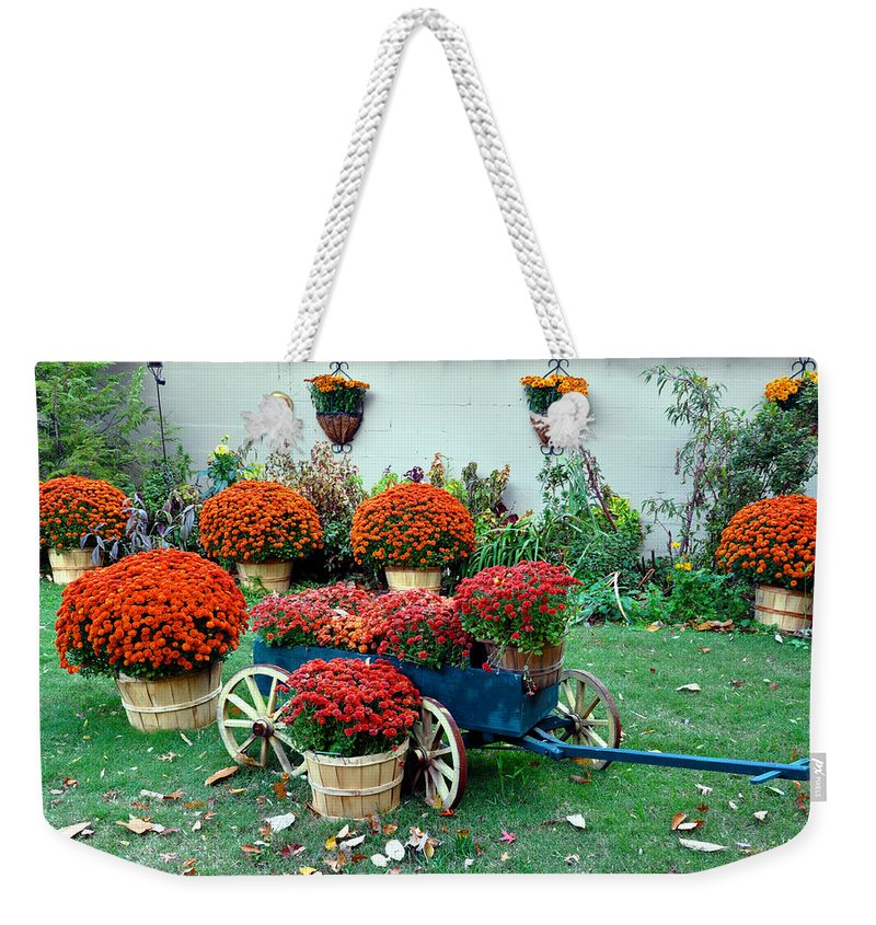 Mums Weekender Tote Bag featuring the photograph Autumn by Brittany Horton